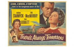 There's Always Tomorrow 1956 DVD - Barbara Stanwyck / Fred MacMurray